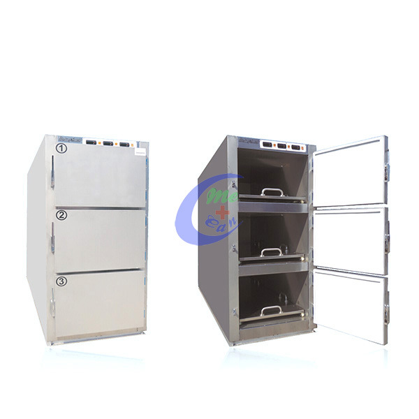Low Price 3 Body Mortuary Refrigerator