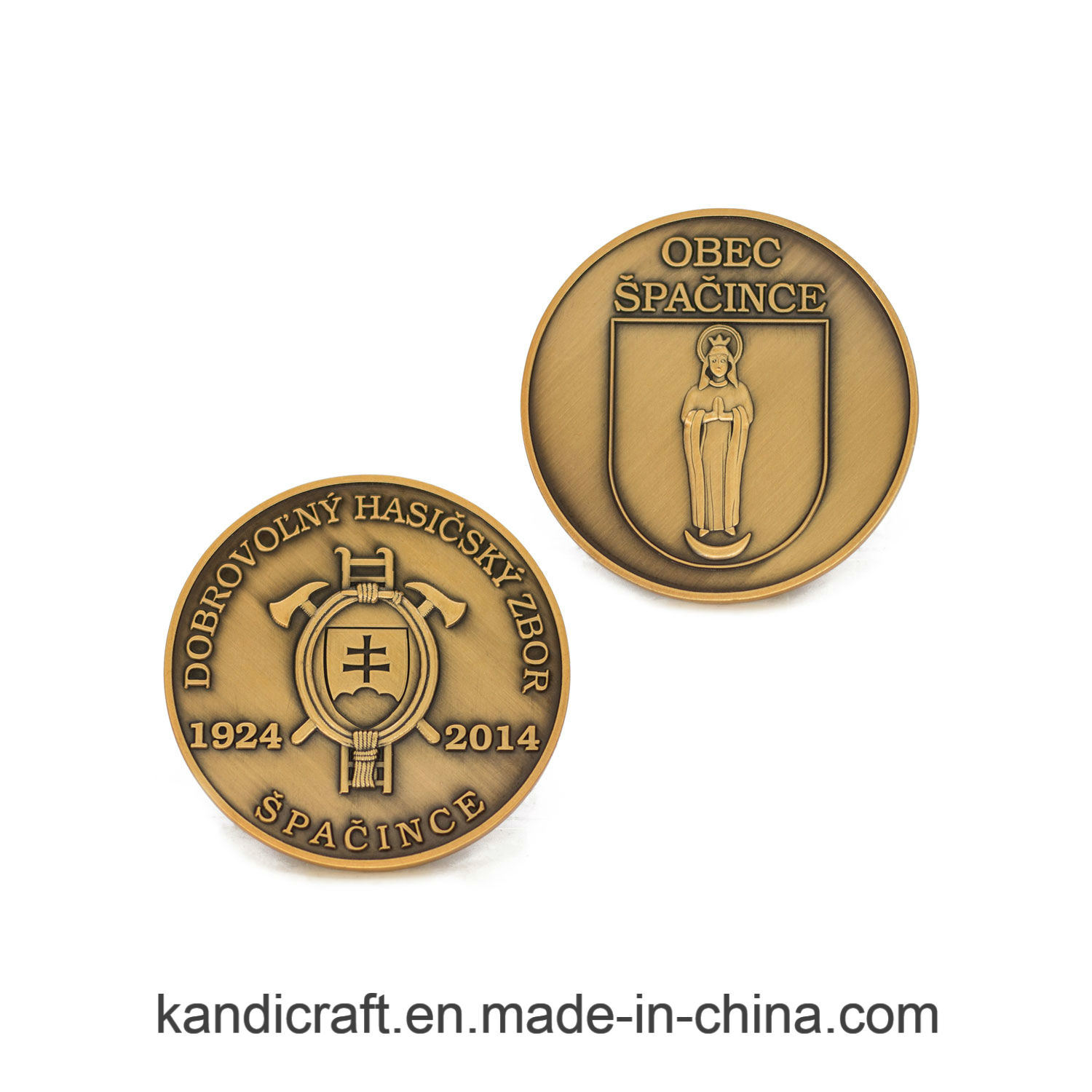 Custom Stamping 3D Old Souvenir Coin