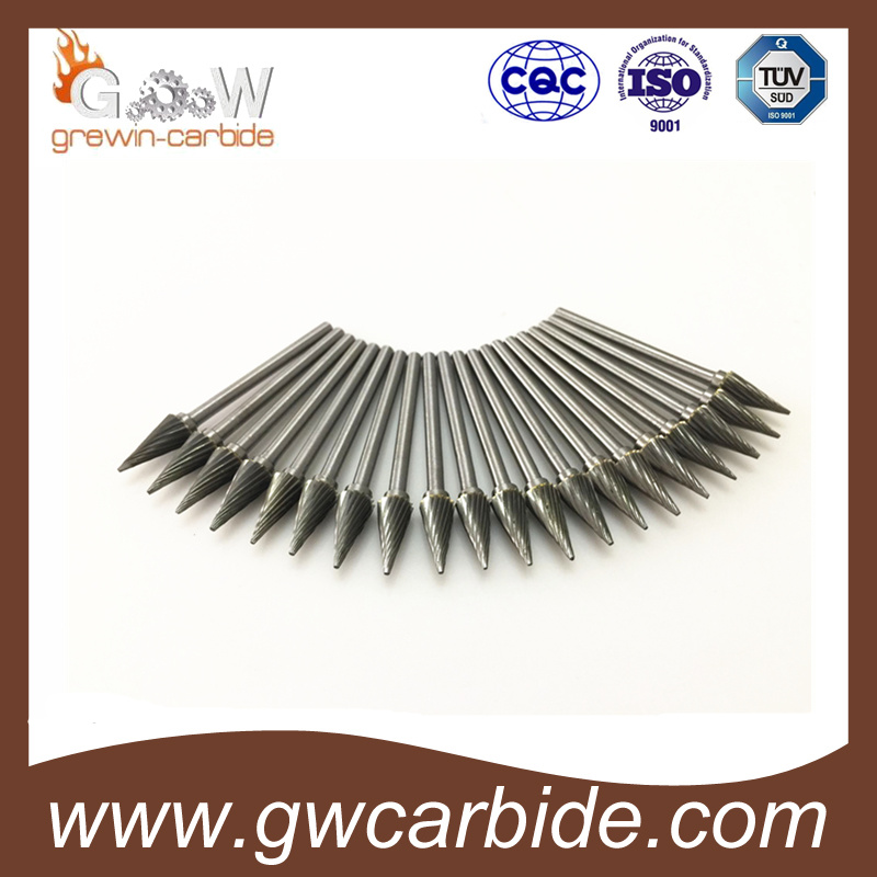 Tungsten Carbide Rotary Burrs Carbide Debur with Various Types