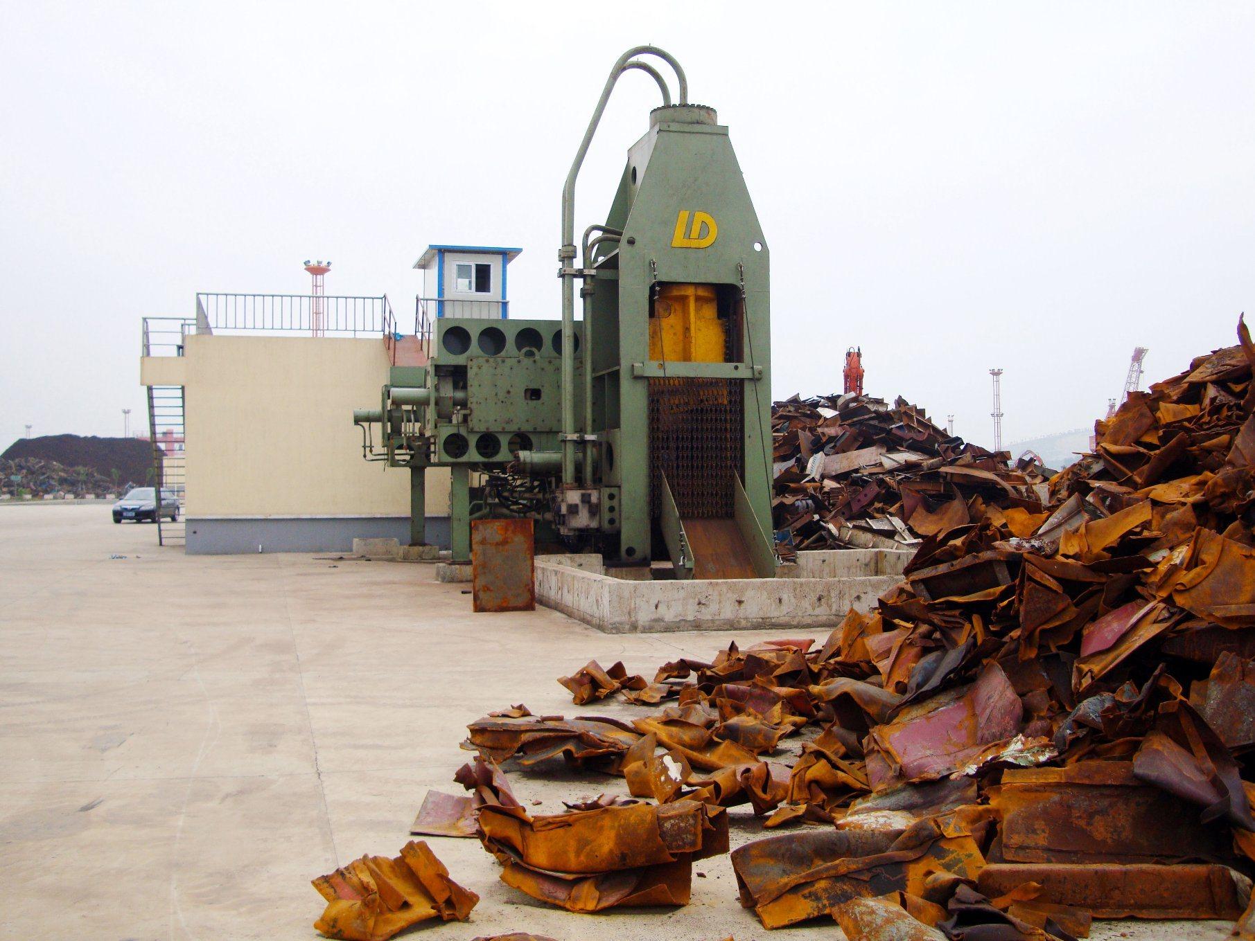 Q91Y-1250 Heavy Duty Scrap Metal Shear