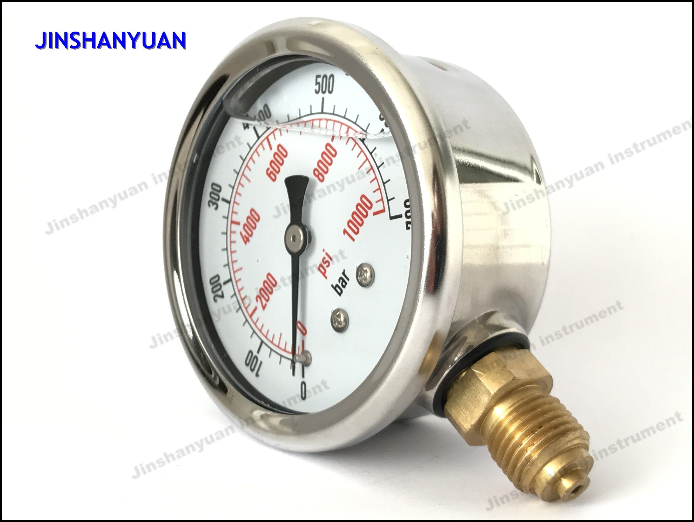 Og-008 Wika Type with Rolling Ring Pressure Gauge