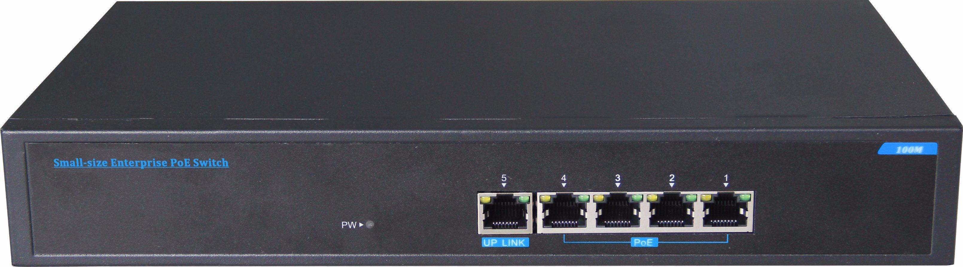 4 Poe with 1 Uplink Port 30W Power Ethernet Network Switch