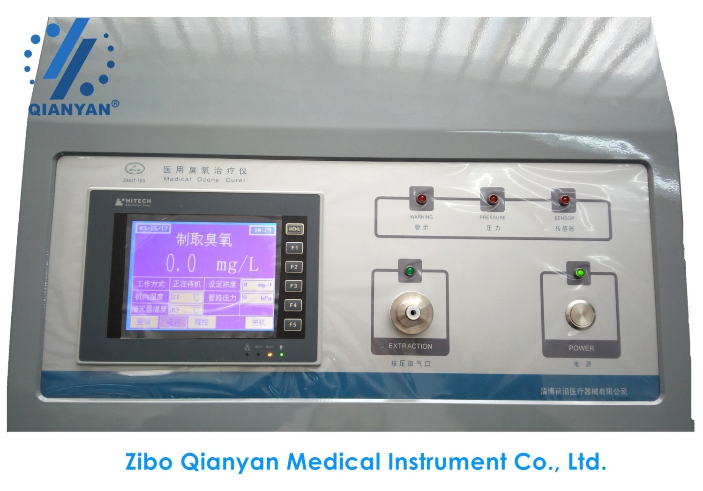 Trolley Mounted Medical Ozone Generator for Minimally Invasive Oxygen-Ozone Treatment