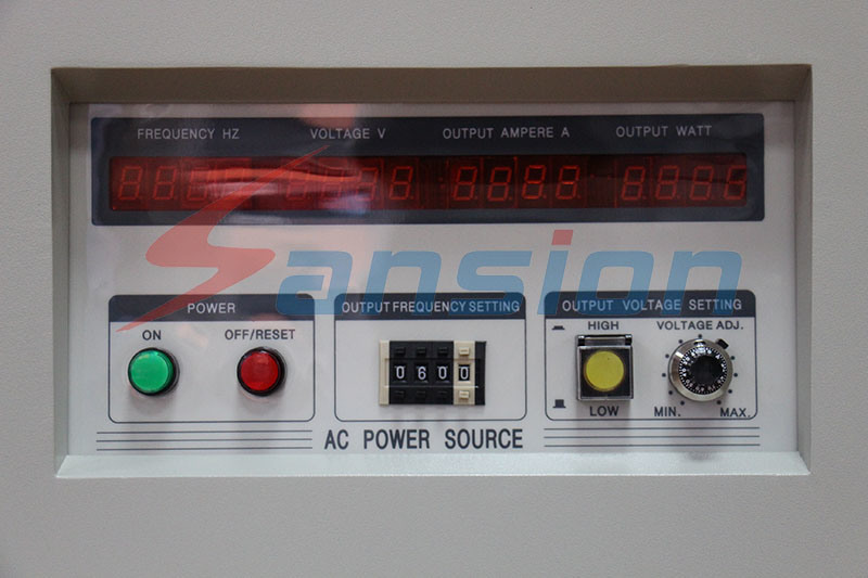 Variable Frequency Power Source