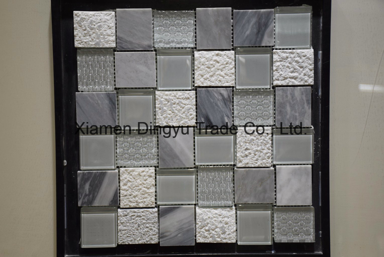 Cheap Water Jet Stone Floor Tile Marble Mosaic
