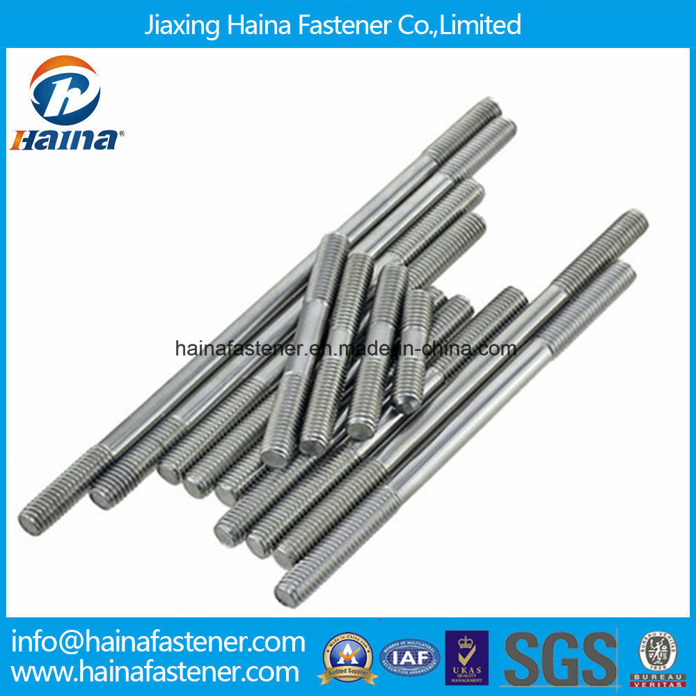 A4-80 Ss316 Stainless Steel Stud Bolts, Two End Threaded Bar M6 M8 M10