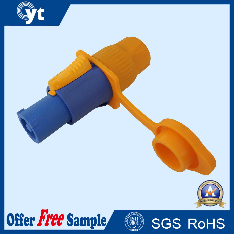 10A Power Circular Connector Waterproof 3p