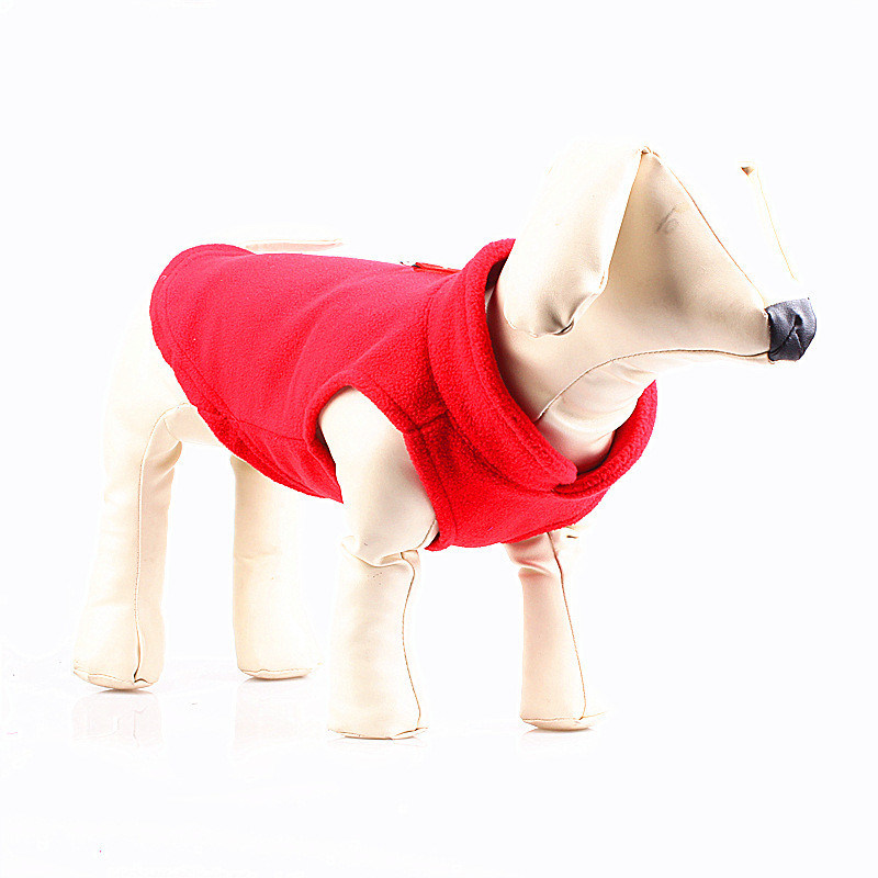 Pet Accessories Coral Fleece Wholesale Dog Vest