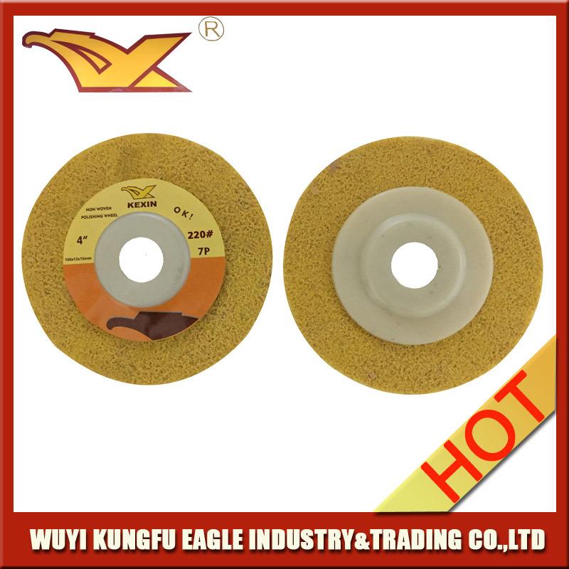 Kexin Non-Woven Polishing Disc (100X12, 220#)