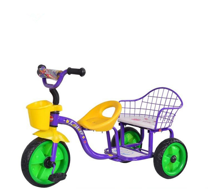 Small Kids Ride on Toys Kids Metal Tricycle Child Tricycle