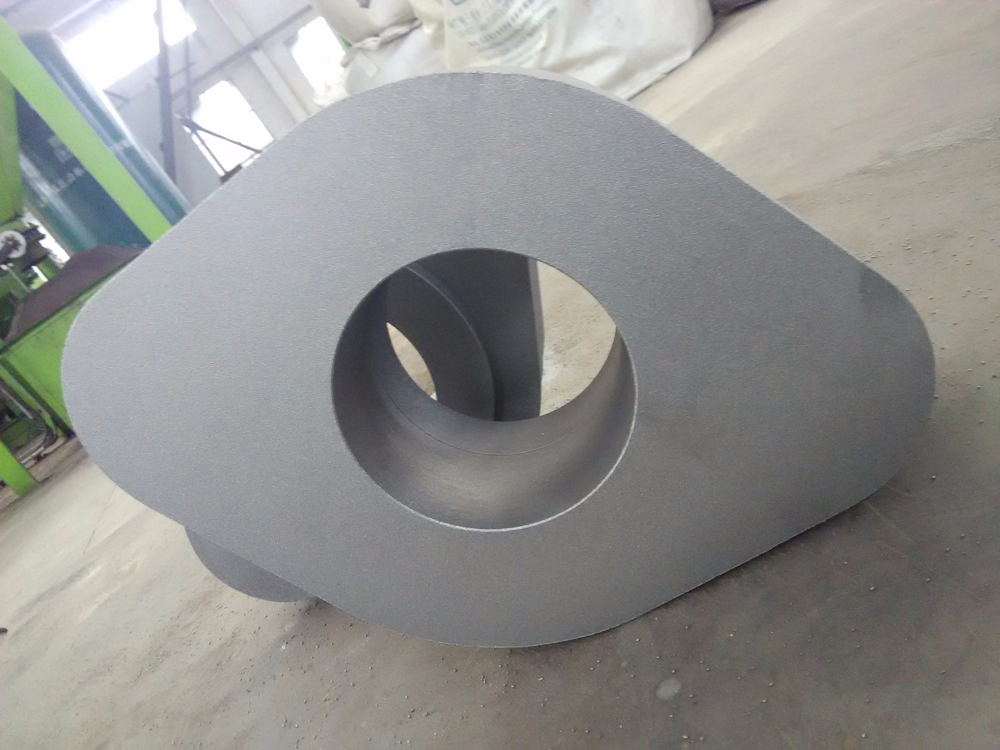 Customized Sand Casting Resin Casting Parts for Construction Industry