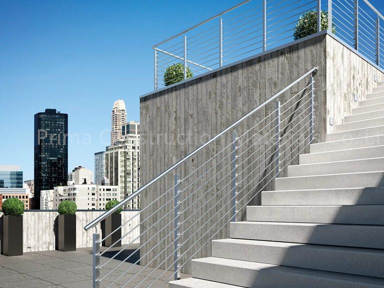 High Quality Stainless Steel Railing Inox Stair Handrail