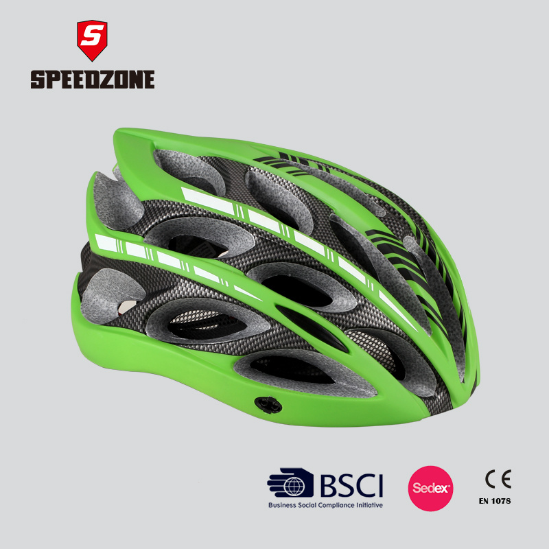 China Super Light Weight Fancy Colors Bike Helmet For Adults