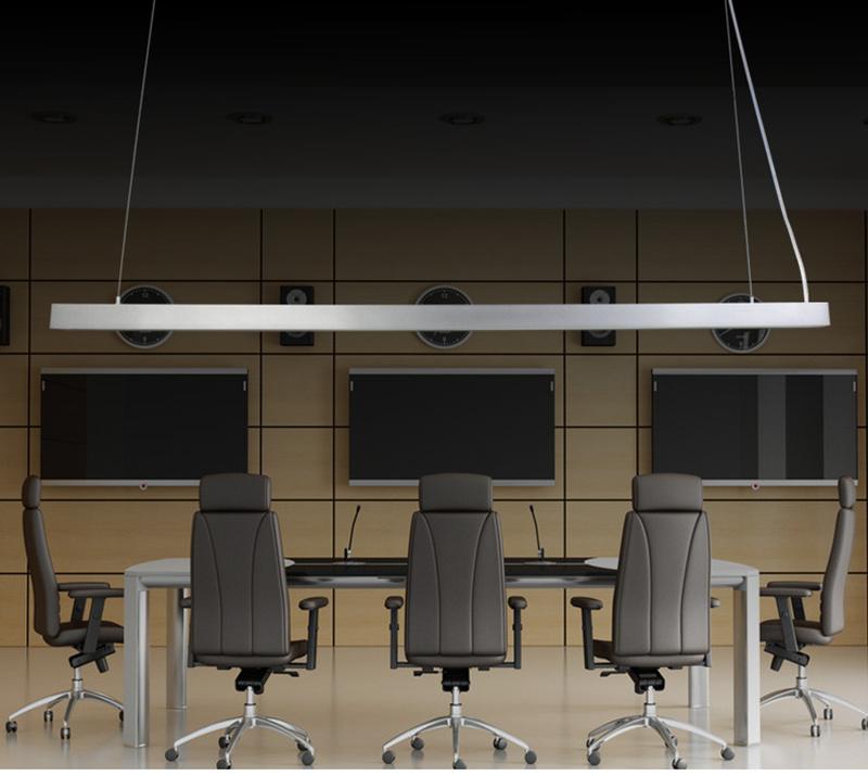 40W L1200*W55*H75mm LED Linear Lighting