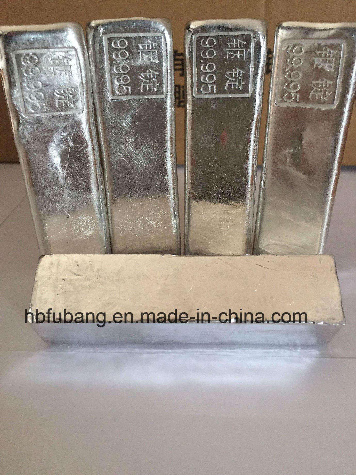 Indium 99.995% in Rare Metal Standard Chunk Ingot