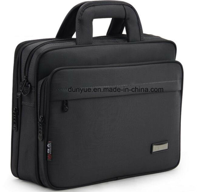 Factory Supplier Durable Nylon Laptop Messenger Bag, OEM Multifunctional Notebook/Laptop Briefcase/Single Shoulder Bag for Business Trip