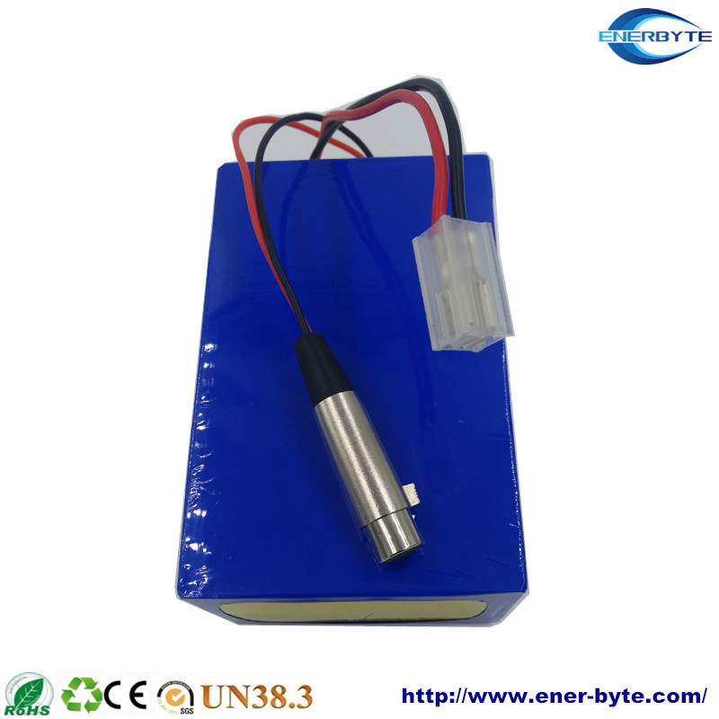 Rechargeable LiFePO4 Battery Pack 72V 40ah for E-Motor/ Scooter