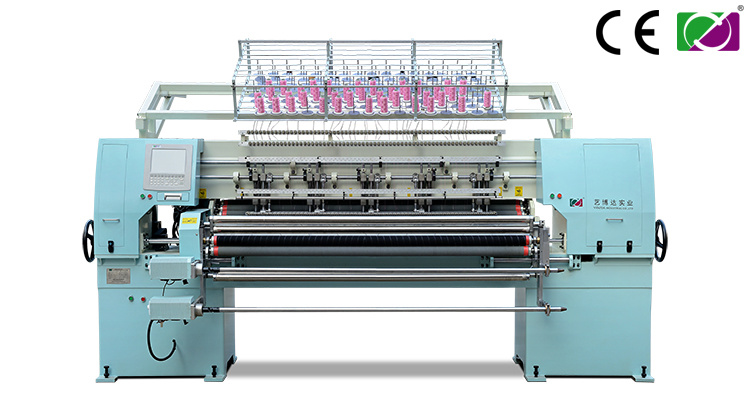 Multi Head Shuttle Quilting Machine
