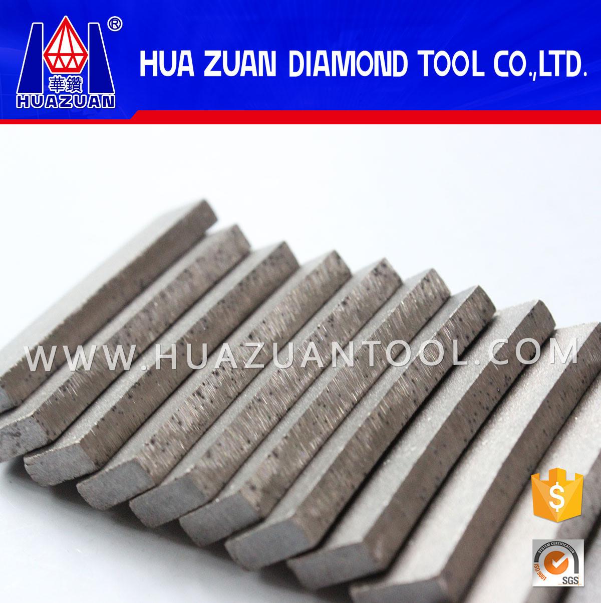 Fan Shape Diamond Segment for Cutting Granite
