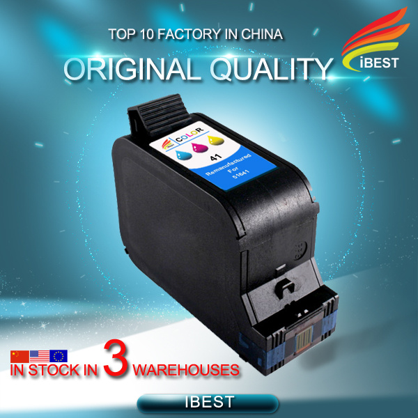 Stable Quality Compatible HP41 Ink Cartridge 51641 Bright Colour