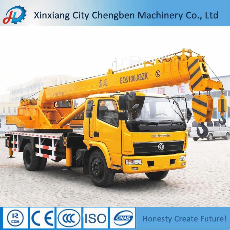 16 Ton Construction Used Mini Telescopic Hydraulic Mobile Truck Crane Machine for Sale