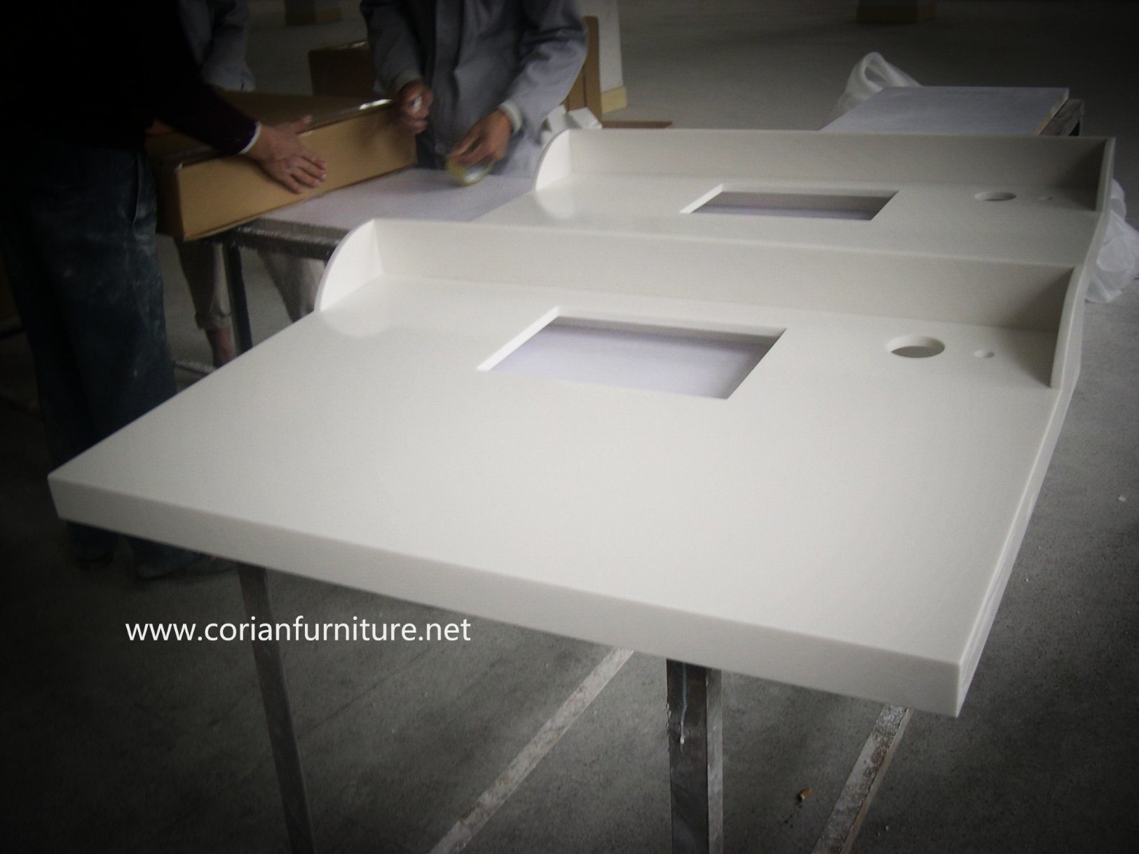 Acrylic Solid Surface Round Table Top