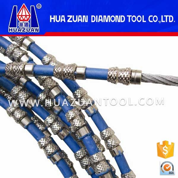 Huazuan Top Quality Aggressive Vacuum Brazed Diamond Wire Saw