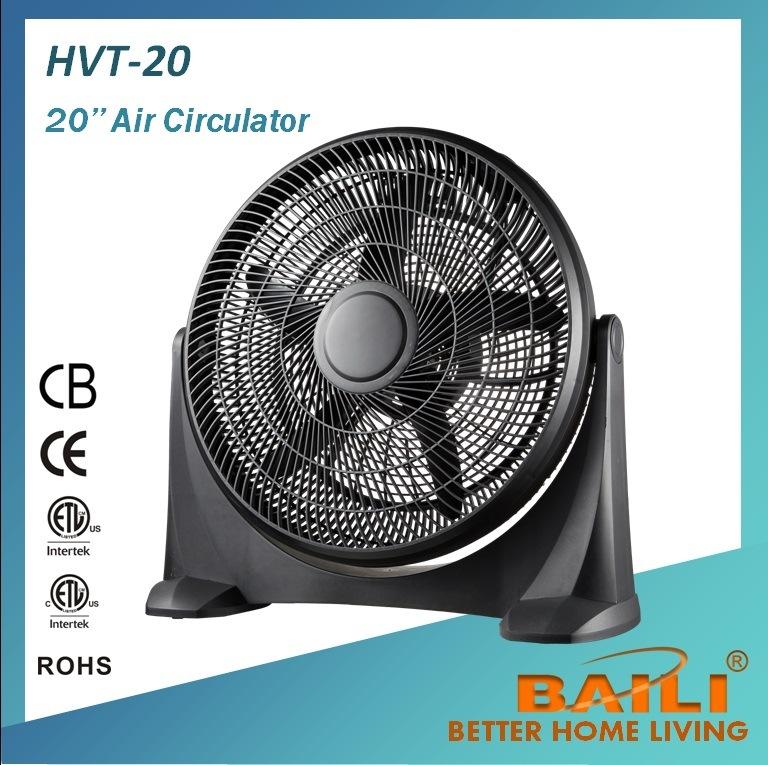 20′′ Box Fan and Turbo Fan With100% Copper Motor