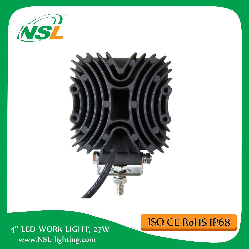 Cheap LED Work Light 27W Manufacturer Wholesale Cheap Price for Trucks Forklift Cars
