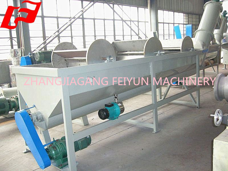 500kg/H PP PE Film and Waste Plastic Recycling Line