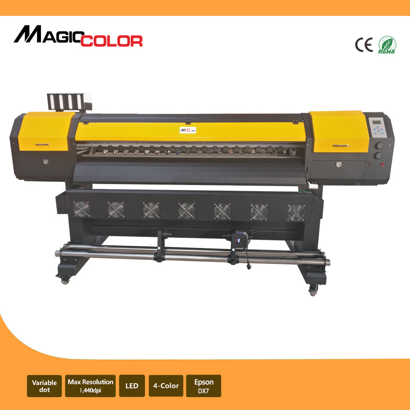 1.7m Cheap Cost Eco Solvent Printer with Epson R9