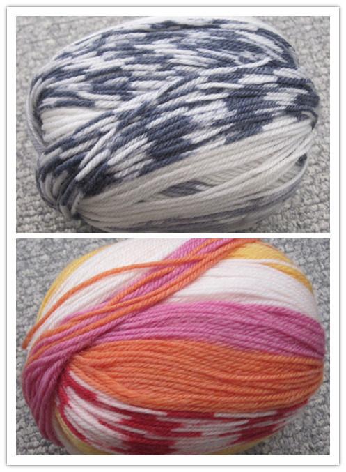 Jacquard Print Wool Yarn (0305-DR1004)