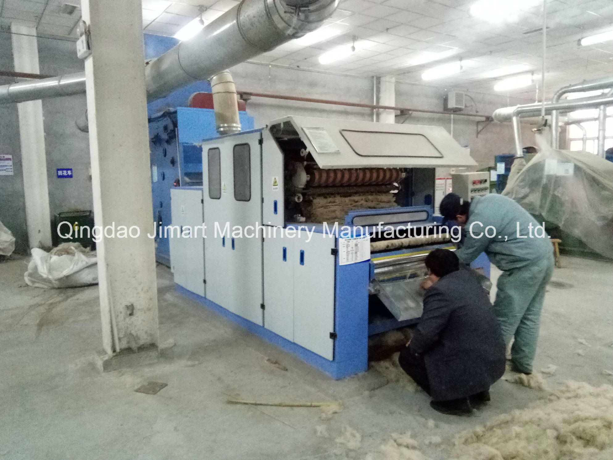 China Famous Brand Jimart Carding Machine Used in Cotton Wadding
