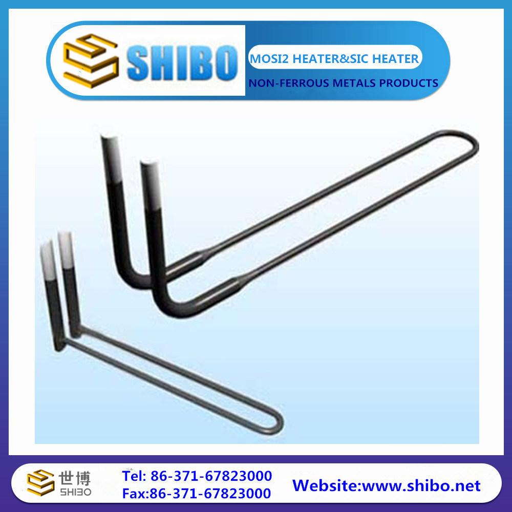 UL Shape Mosi2 Heater Used for Electric Furnace