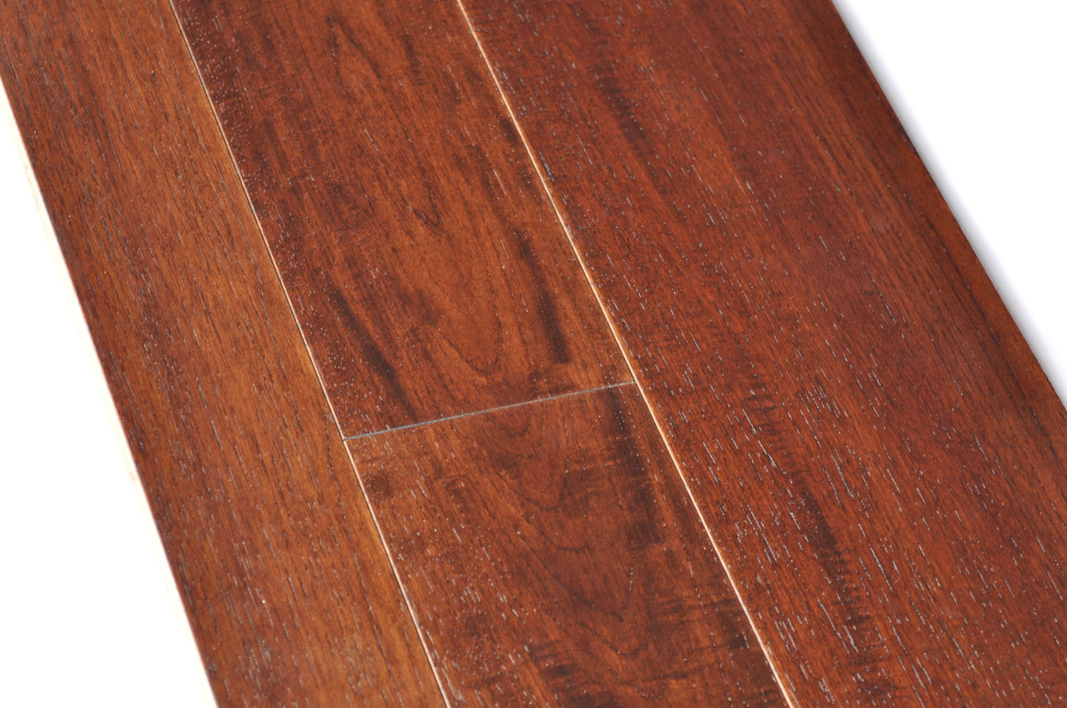 China american hickory multilayer engineered wood flooring for Engineered woods