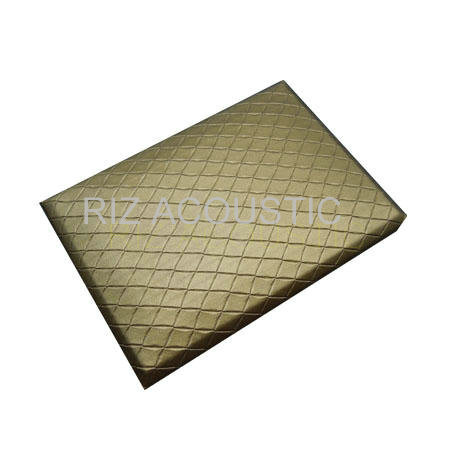 Glass Wool Fabric Warpped Sound Insulation Panel