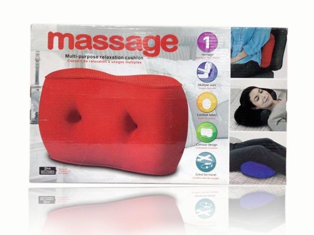 Microbeads Travel Neck Massage Pillow