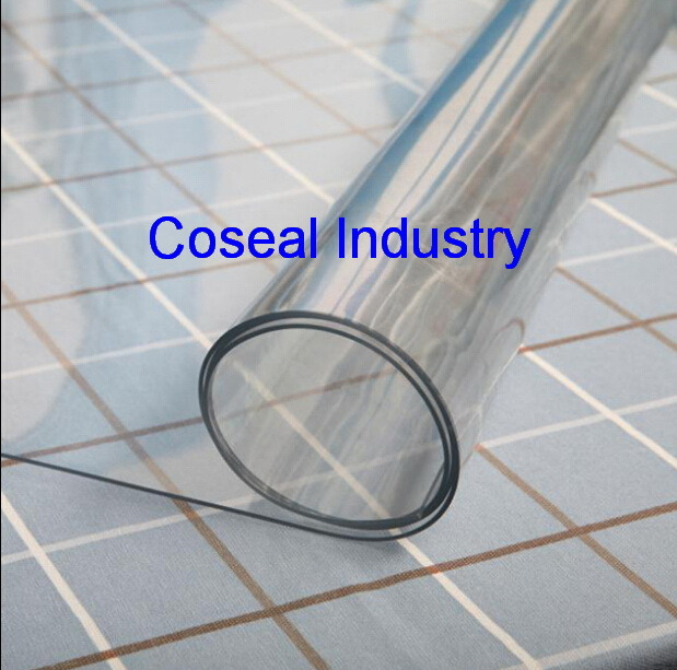 China Super Clear Plastic Fabric Sheet With En71 Standards