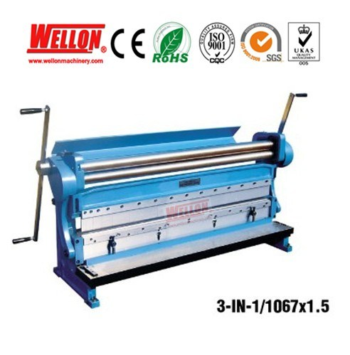 Multi Purpose Machine (Shearing rolling bending machine 3-IN-1/1320X1.5 3-IN-1/1067X1.5)