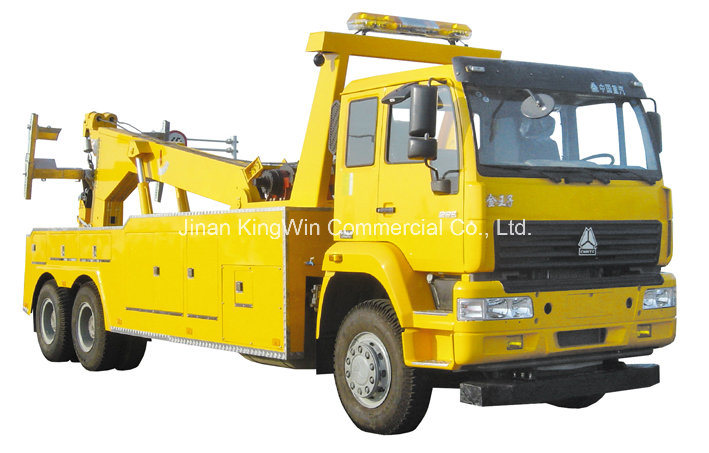 China Sinotruk Brand Road Wrecker