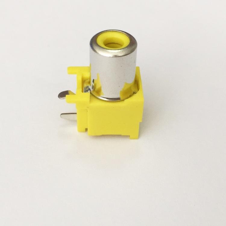 AV Socket with The Core Lotus Single-Hole RCA Socket Audio and Video Terminals AV1-8.4-5