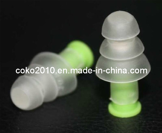 Clear and Transparent Color Silicon Ear Plug