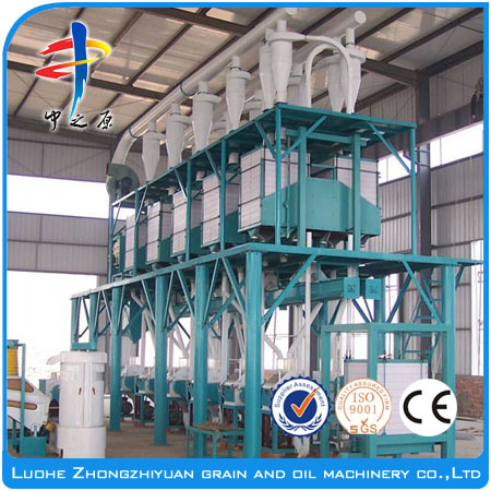 100 Tons/Day Wheat Flour Mill Machine/Corn Flour Mill Machine/Maize Flour Mill Machine