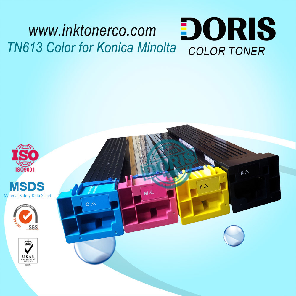 Tn613 Color Compatible Copier Toner Cartridge for Konica Minolta Bizhub C452 C552 C652