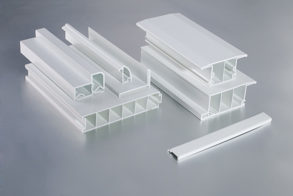 White UPVC Profiles for Windows and Doors