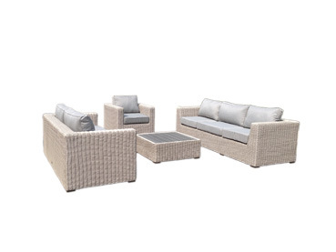 Outdoor Patio PE Rattan Sofa (kr-003)