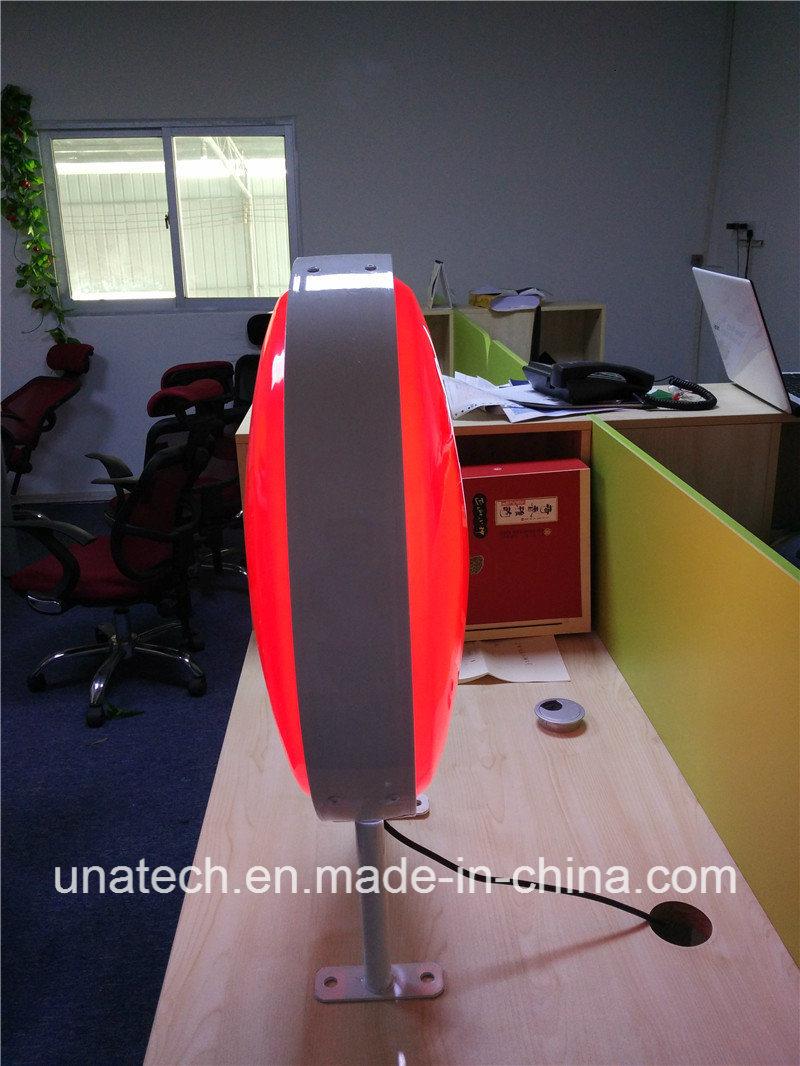 Outdoor Display LED Round/Sqaure Vacuum Aluminium Light Box
