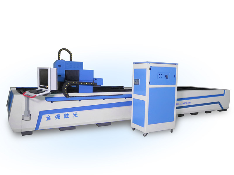 Jq Fiber 1000W Metal Laser Cutter with Exchange Worktable