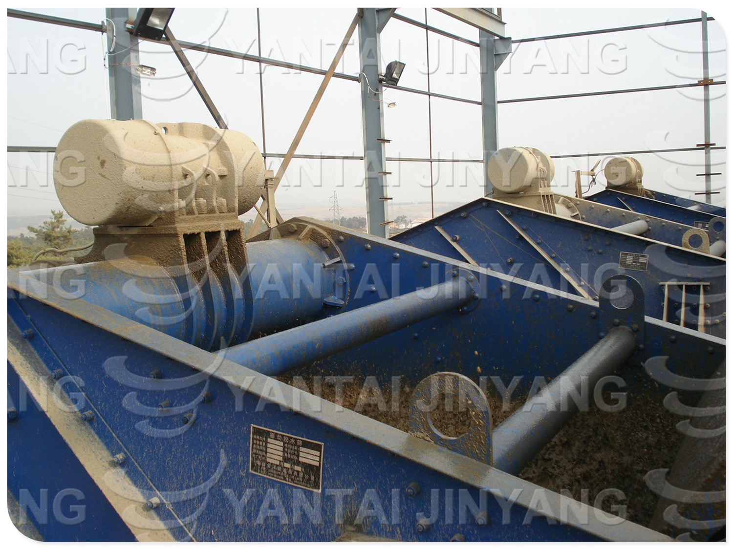 Gold/Copper/Zinc/Iron Tailings Dewatering Screen, Sieving Machine