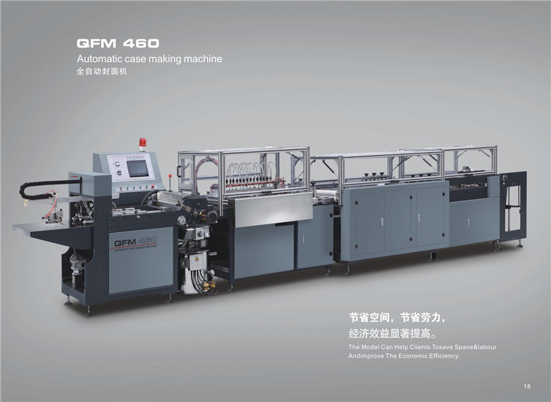 Automatic Casemaker Qfm-600 Classical Model
